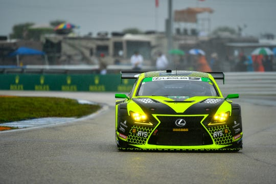 The AIM Vasser Sullivan No. 14 Lexus RC F GT3 will make its first appearance at Mid-Ohio Sports Car Course at the IMSA Acura Sports Car Challenge this weekend.