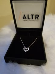 Altr lab-created diamonds will add sparkle to Mom's day.