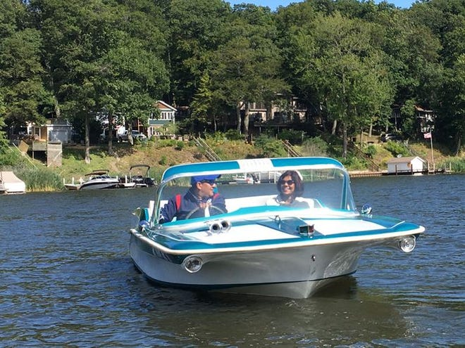 Classic boats will be for rent this summer on the Milwaukee River at Retro Boat MKE.