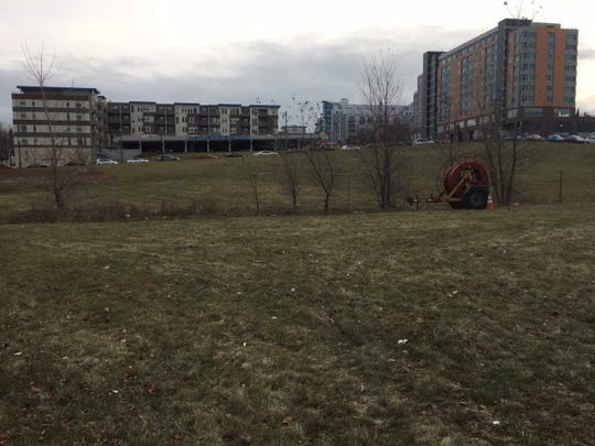County officials are putting a Park East lot on the sale block after the latest attempt to develop it fell through.