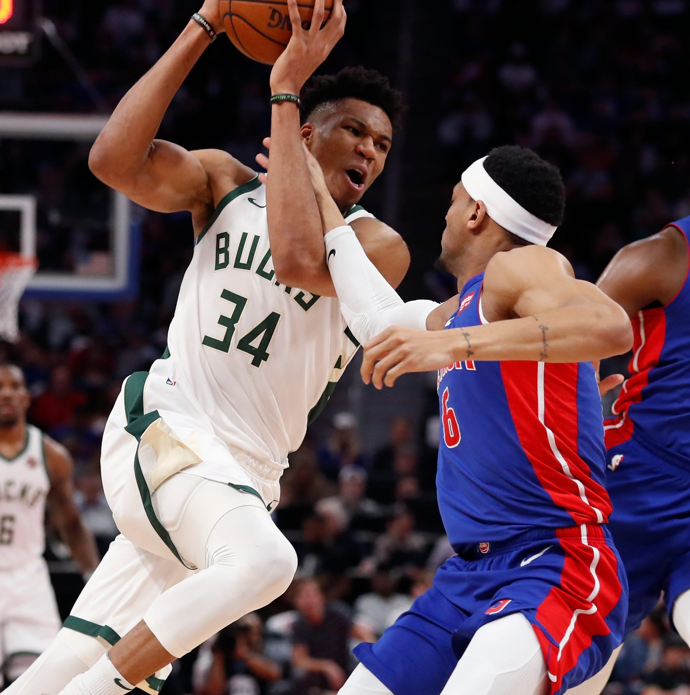 Bucks 127, Pistons 104: A long drought ends with a first-round sweep