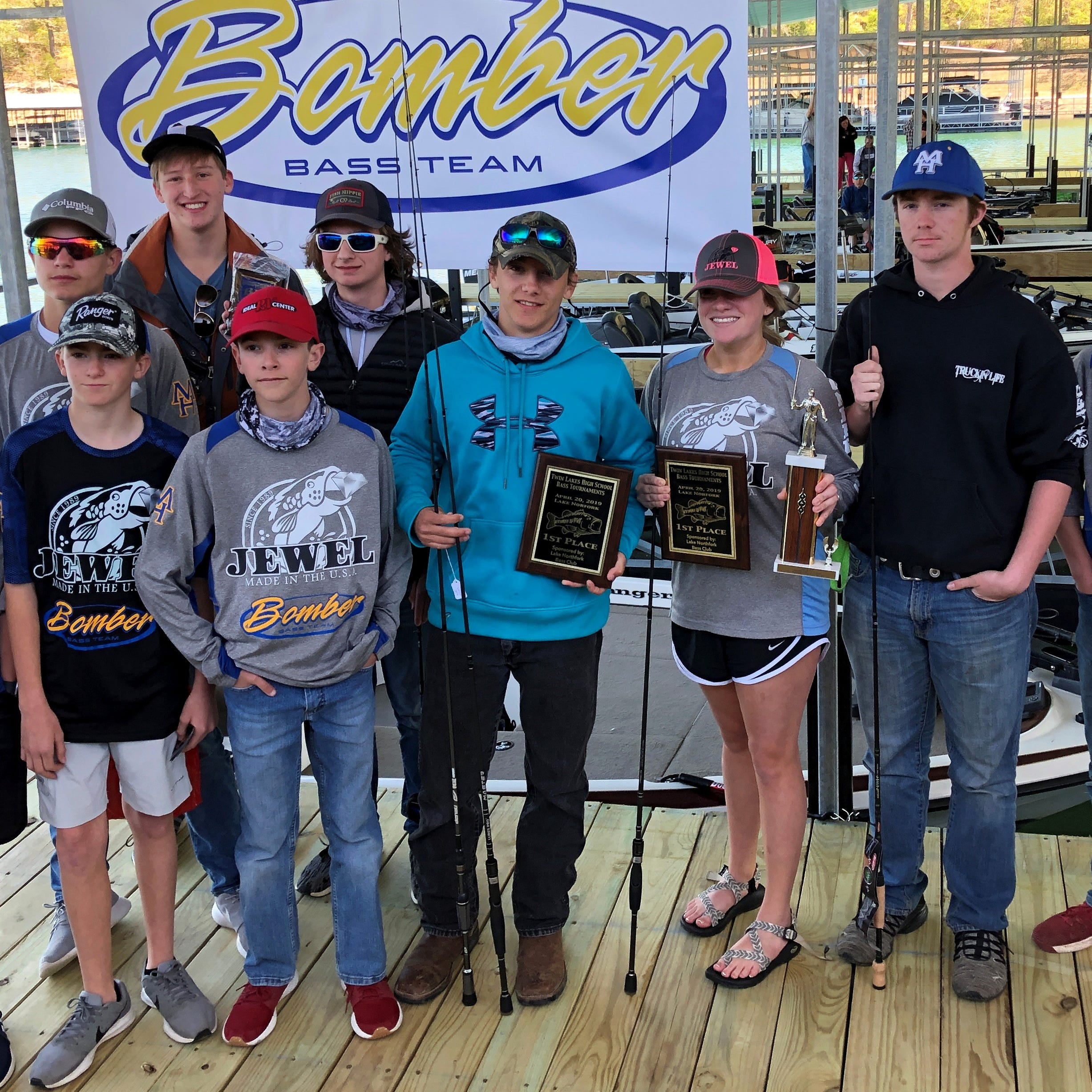 Barron, Lee win high school bass tourney