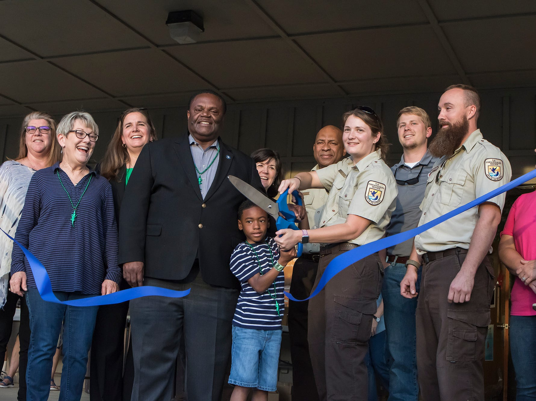Black Bayou held a ribbon cutting and other festivities to celebrate the grand opening of the newly remodeled Learning Center on April 22 in Monroe, La.
