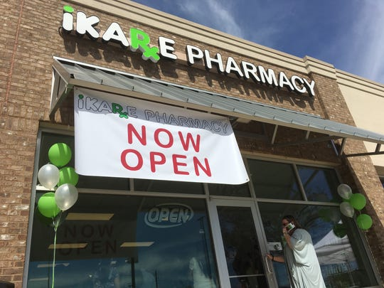 iKare Pharmacy recently opened at 7212 Halcyon Park Drive.