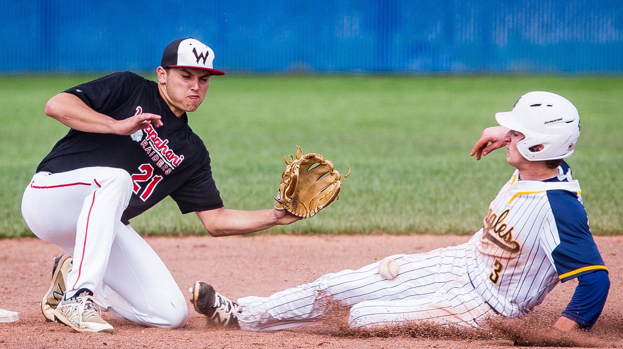 Delta versus Wapahani baseball