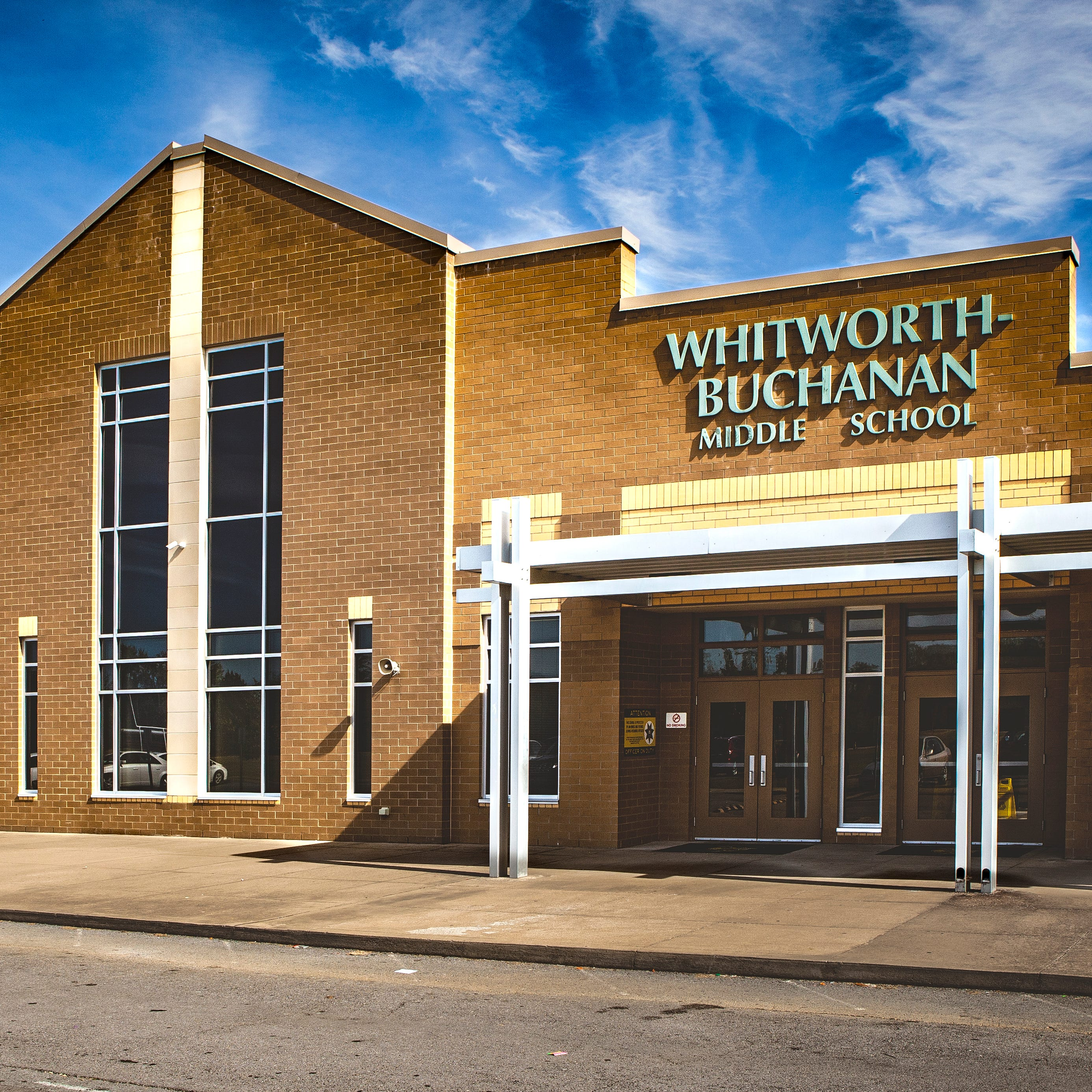 Recent Whitworth-Buchanan Middle threat deemed not credible