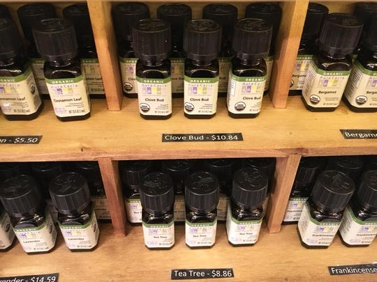 Half Hill Farm's Wellness Emporium sells organic essential oils, including cannabidiol.
