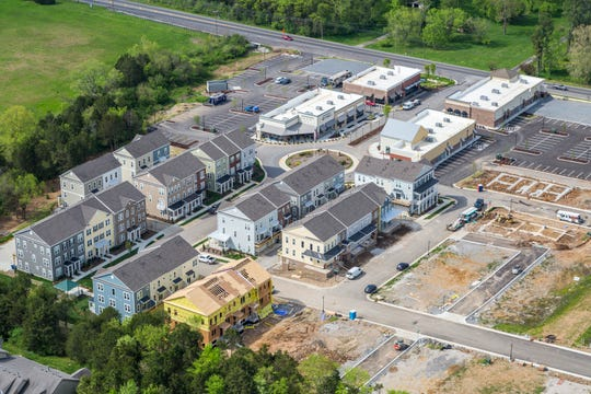 Phase I of Burkitt Commons in Nolensville includes more than 36,000 square feet of retail space along with town homes and condos.