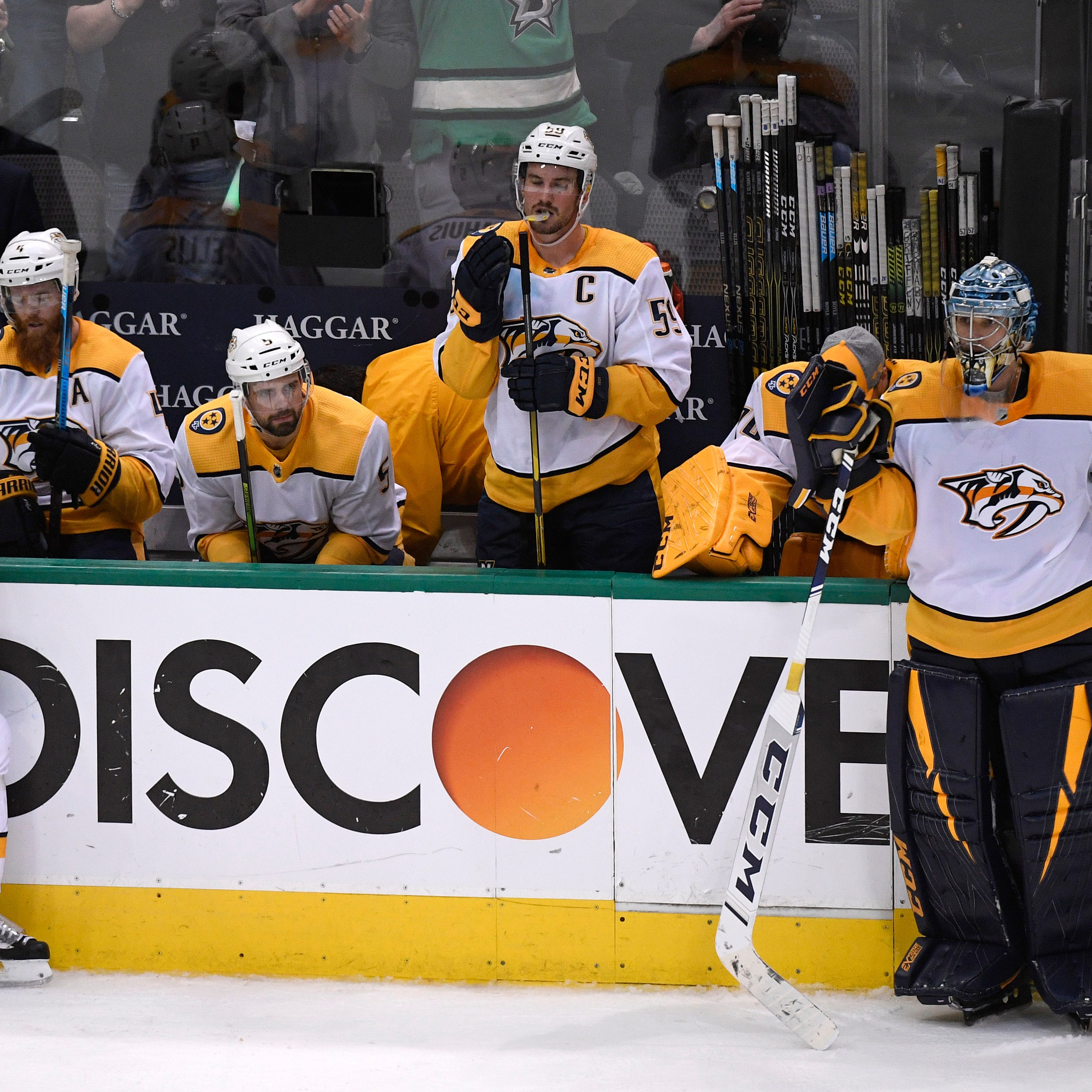 Predators fans left with mixed emotions after season-ending loss in Game 6 to the Dallas Stars