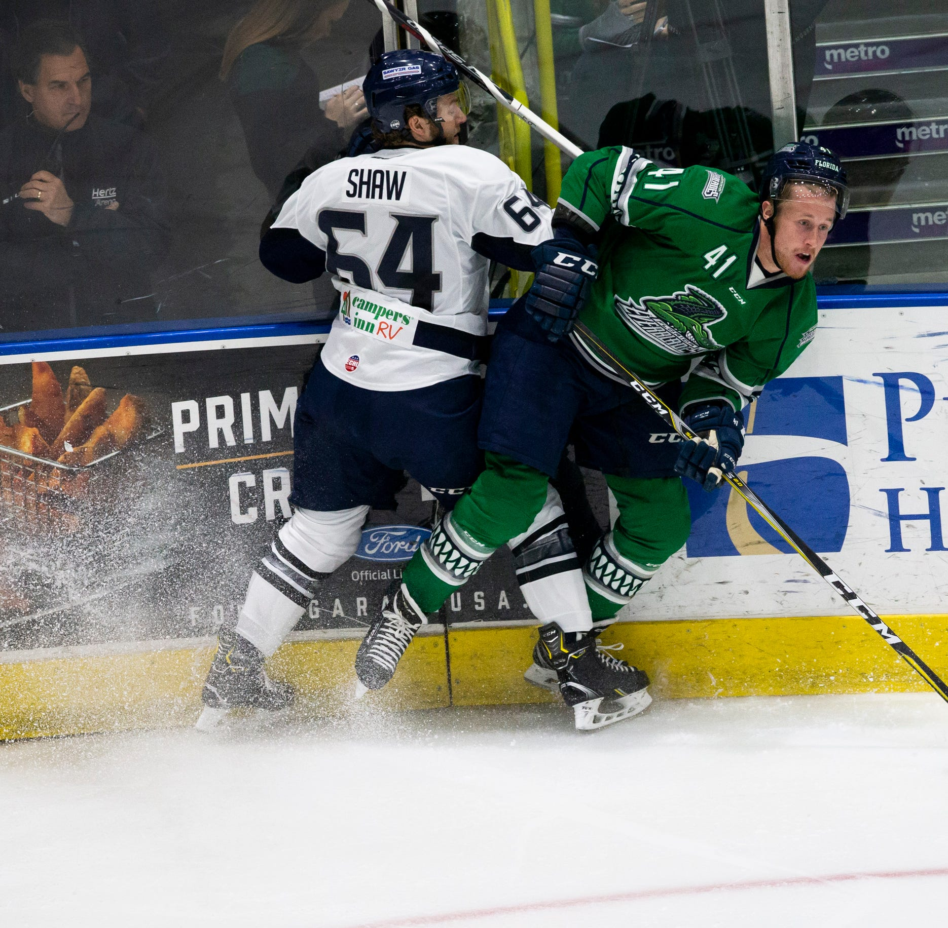 ECHL hockey: Everblades erupt in second period to eliminate Icemen in six games