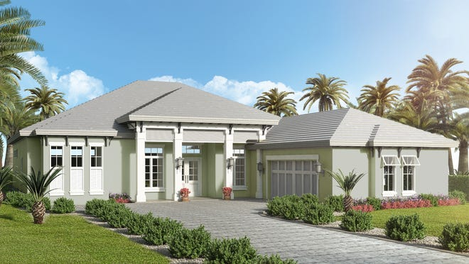 McGarvey Custom Homes' Sea Grape inventory home, located in Naples Reserve, is now a furnished model.