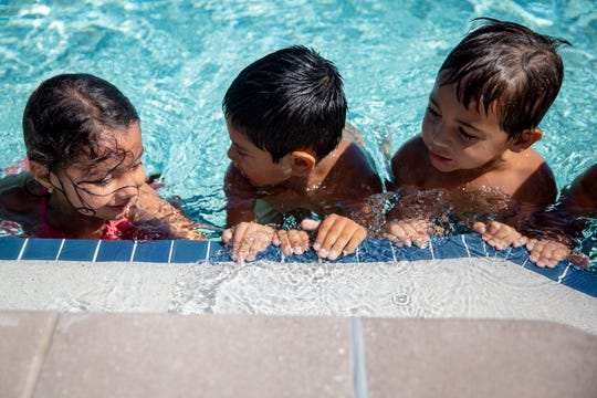 Swimming is part of the Cinco de Mayo celebration from noon to 5 p.m. on Saturday, May 4, at Golden Gate Community Park, 3300 Santa Barbara Blvd.