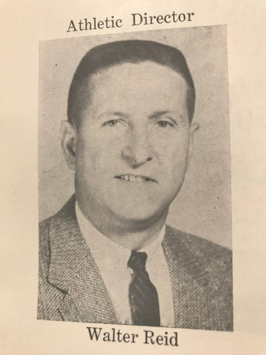 Walt Reid served as athletic director at St. Francis and Newark Catholic in addition to coaching a variety of sports, most notably boys basketball in the 1950s and 60s. Reid died April 15.