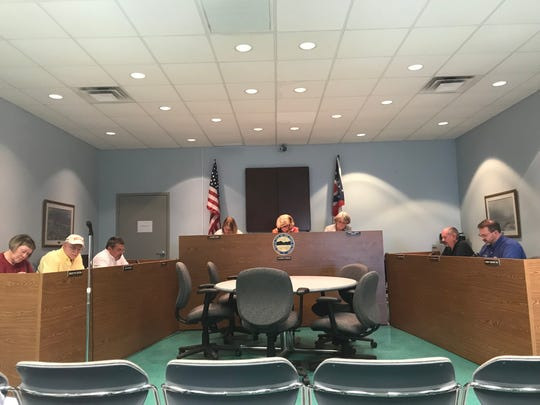 Buckeye Lake Village Council begins a regular meeting on Monday, April 22, 2019.