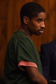 Gyasi Allen, as seen during his arraignment.