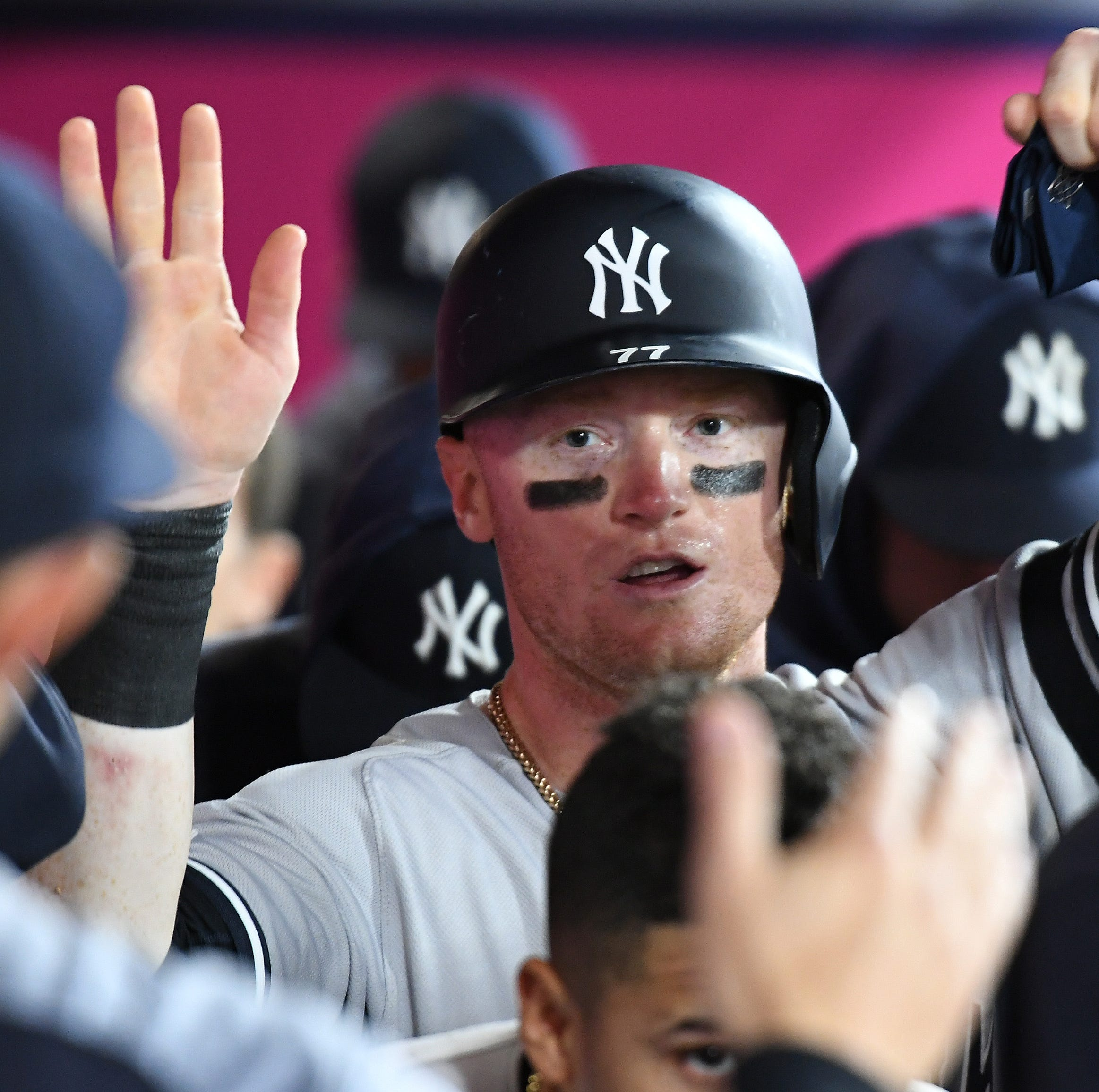 Clint Frazier to IL with ankle strain, Giancarlo Stanton dealing with shoulder issue