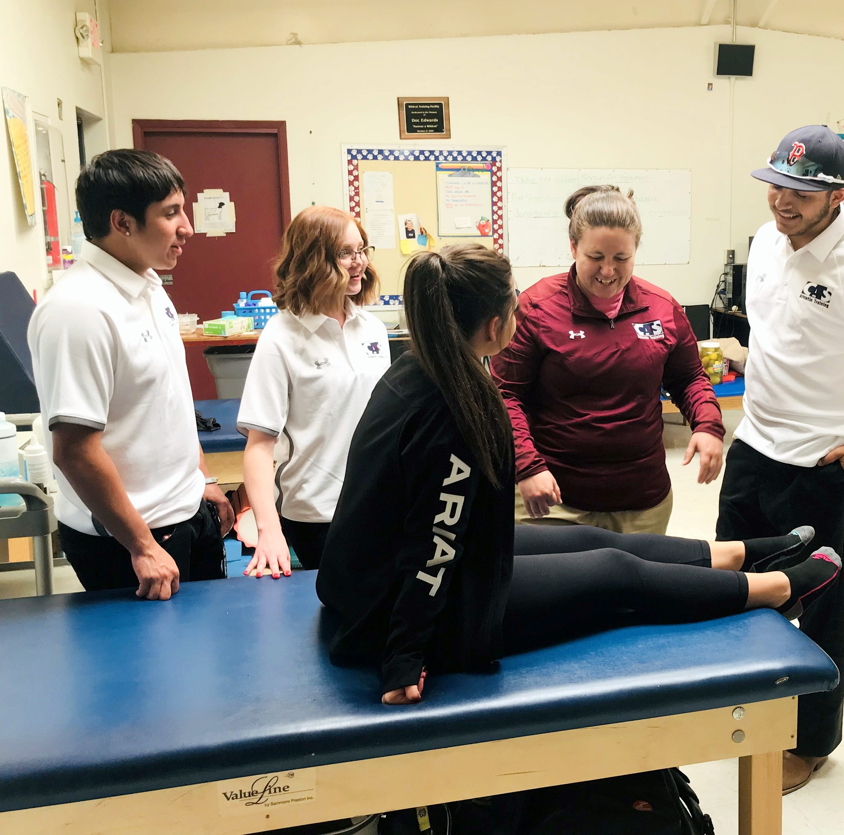 Deming High student athletic trainers prepare for state-level competition in Albuquerque