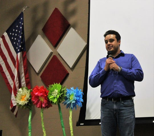 This year's Thrive in Southern New Mexico's annual awards luncheon guest speaker was comedian Lando VC.