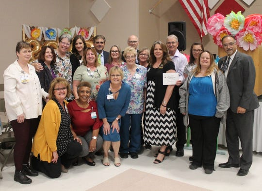Gerald Champion Regional Medical Center donated $182,715 dollars to Thrive in Southern New Mexico.