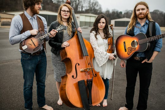 Barefoot Movement will belt out Bluegrass at the festival.