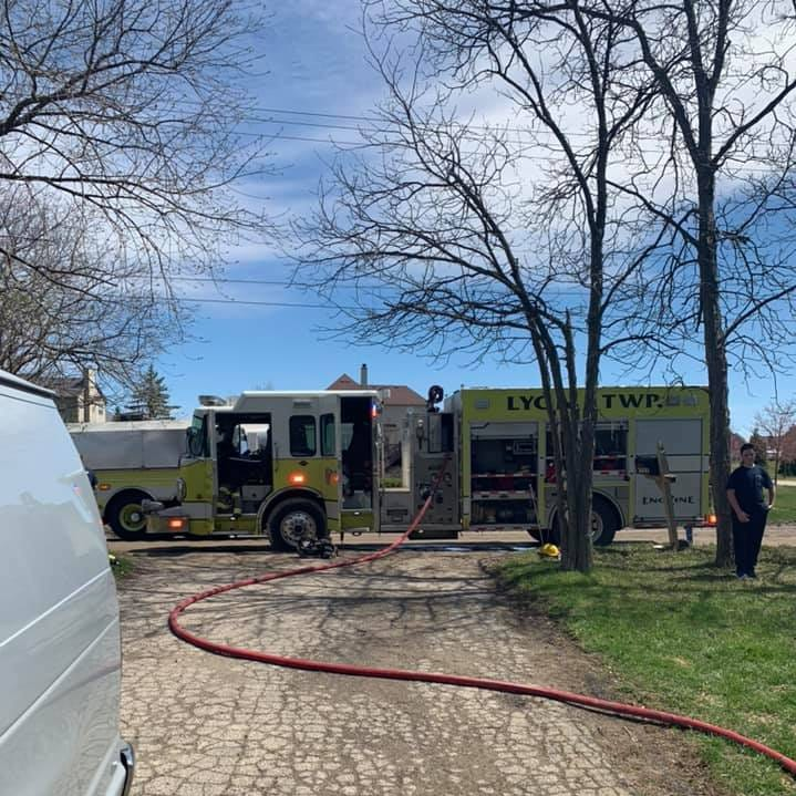 Four dogs perish in Lyon Township fire