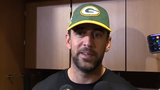 Packers quarterback Aaron Rodgers shares his thoughts on the first day of voluntary mini camp with the new coaches and coordinators.
