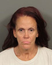 Deborah Sue Culwell is accused of abandoning seven puppies in a dumpster behind a Coachella business. She was arrested April 22.