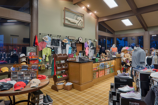 One of the major renovations at Chaparral Country Club is a new pro shop.