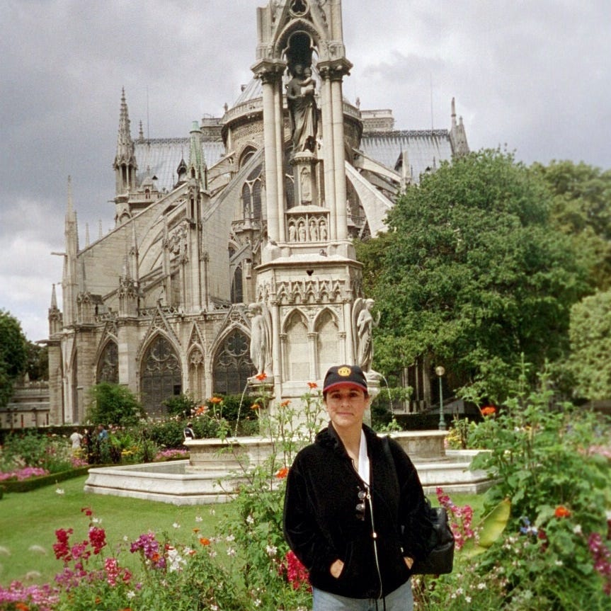 Connecting with familial roots at Notre Dame Cathedral