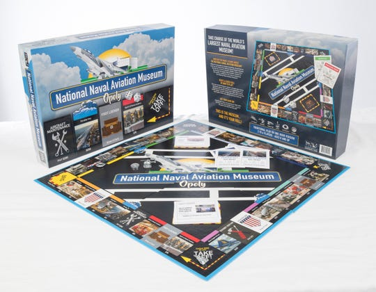 """The new """"National Naval Aviation Museum Opoly"""" is for sale at the museum in Pensacola."""
