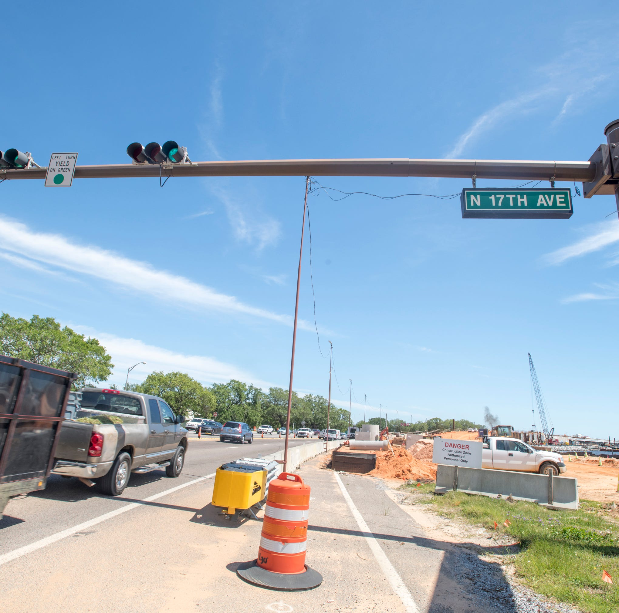 Pensacola roundabout, flyover project to include truck traffic ban under Graffiti Bridge