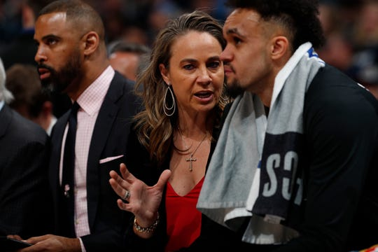 San Antonio Spurs assistant coach Becky Hammon could be a potential head coaching candidate for the Suns.