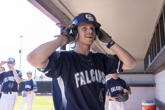 Cactus Shadows outfielder Peyton McGregor is tied for second in the nation in homeruns.