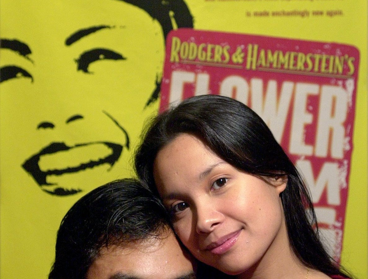 """Jose Llana and Lea Salonga star in the revival of Rodgers and Hammerstein's """"Flower Drum Song."""""""