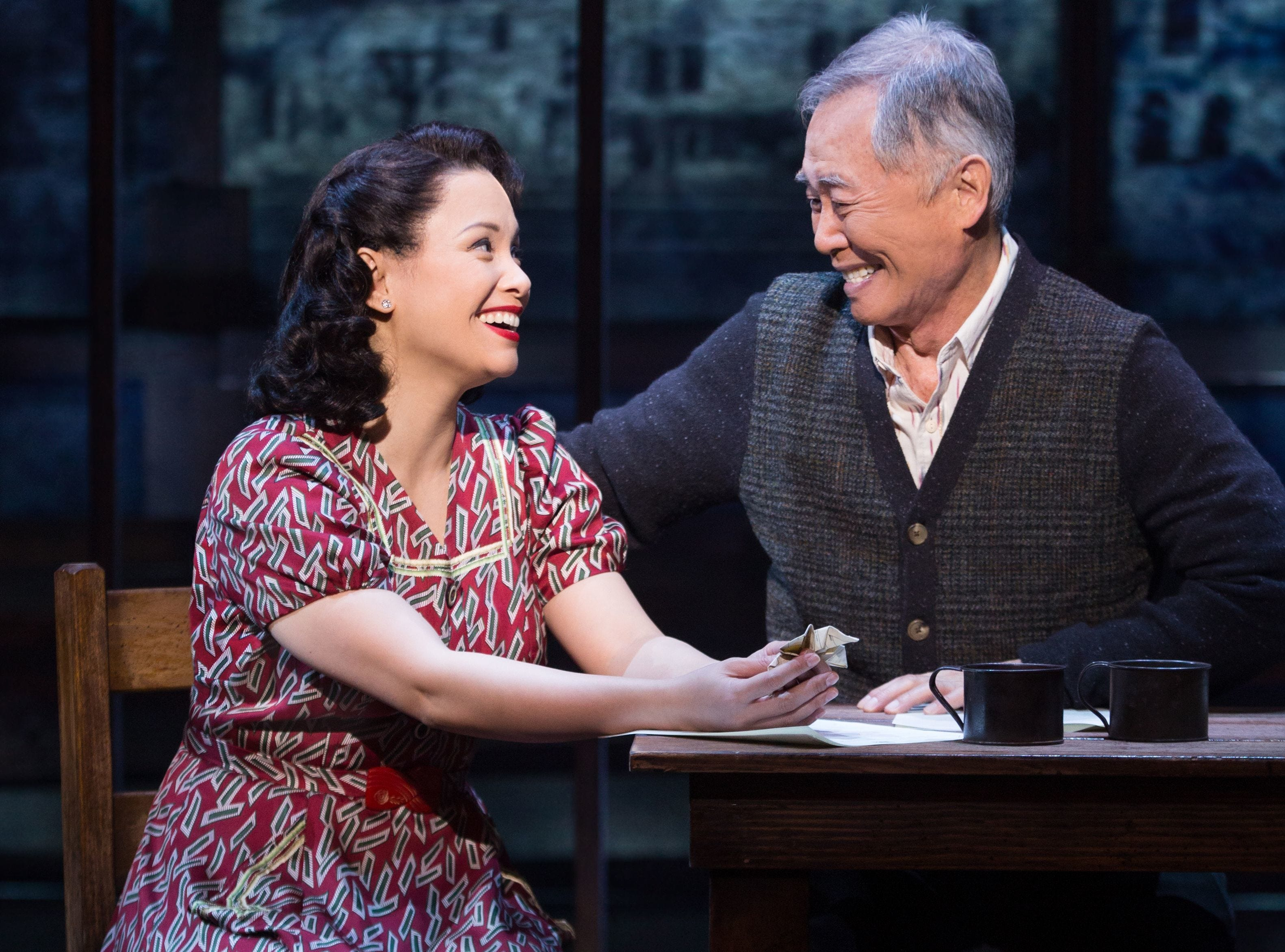 """Lea Salonga and George Takei play members of a Japanese-American family interned during World War II in """"Allegiance,"""" which ran on Broadway from 2015 to 2016."""