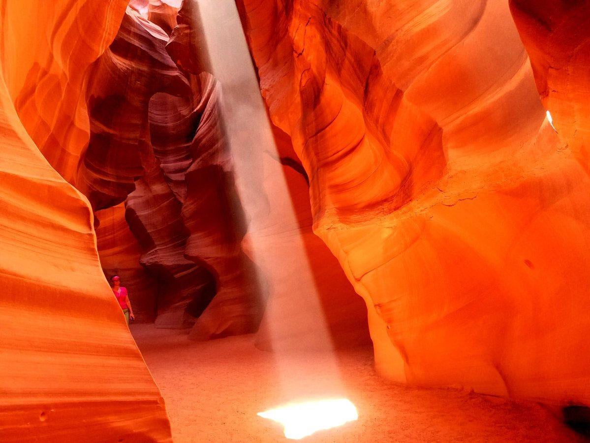 Upper Antelope Canyon.