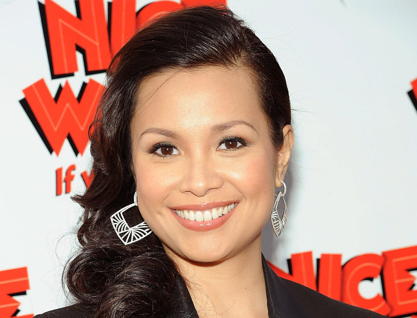 """Lea Salonga attends the """"Nice Work If You Can Get It"""" Broadway opening night at the Imperial Theatre on April 24, 2012, in New York City.  (Photo by Simon Russell/Getty Images)"""