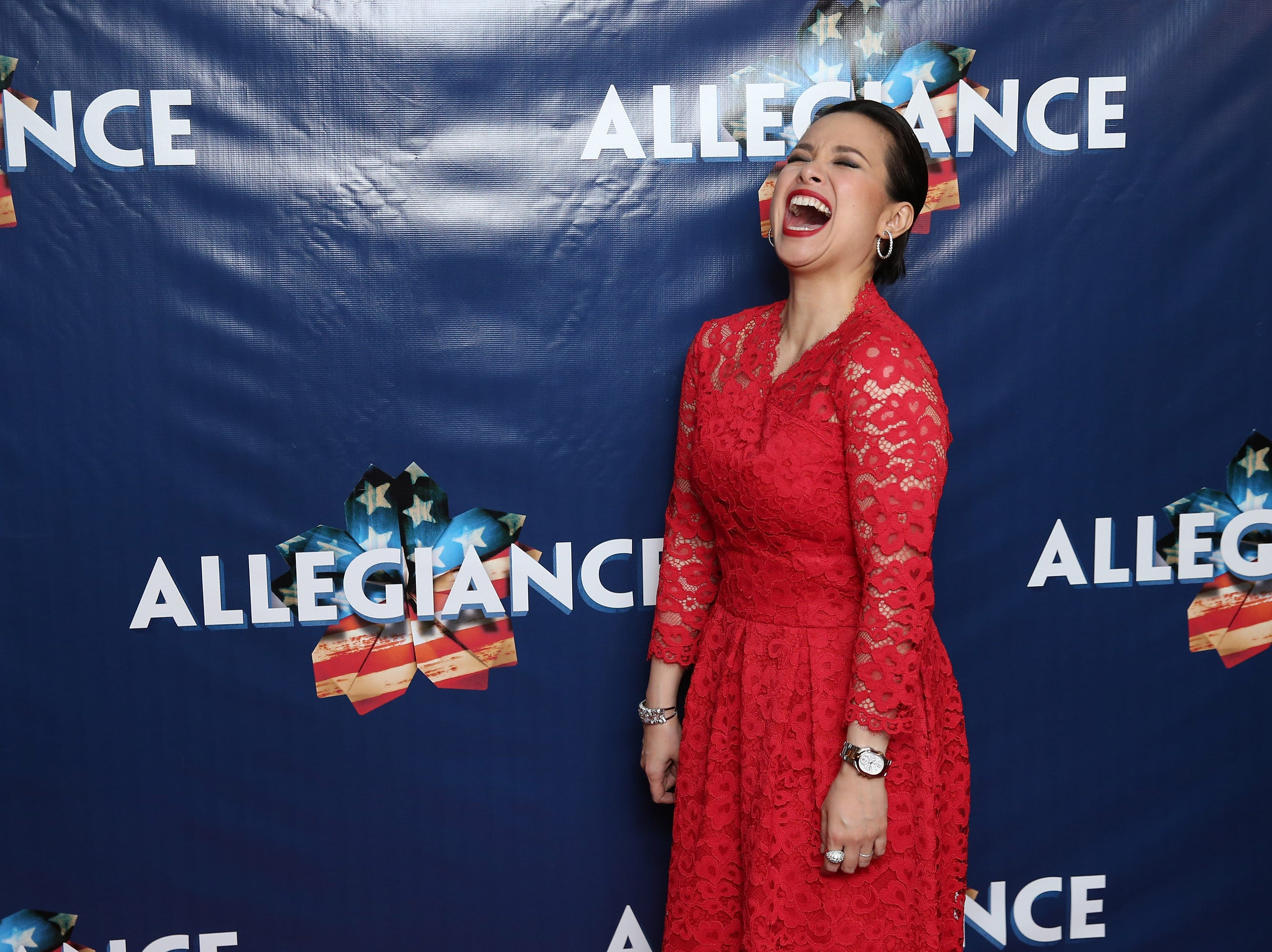 """Lea Salonga attends the opening-night party for """"Allegiance"""" on Nov. 8, 2015, in New York City."""