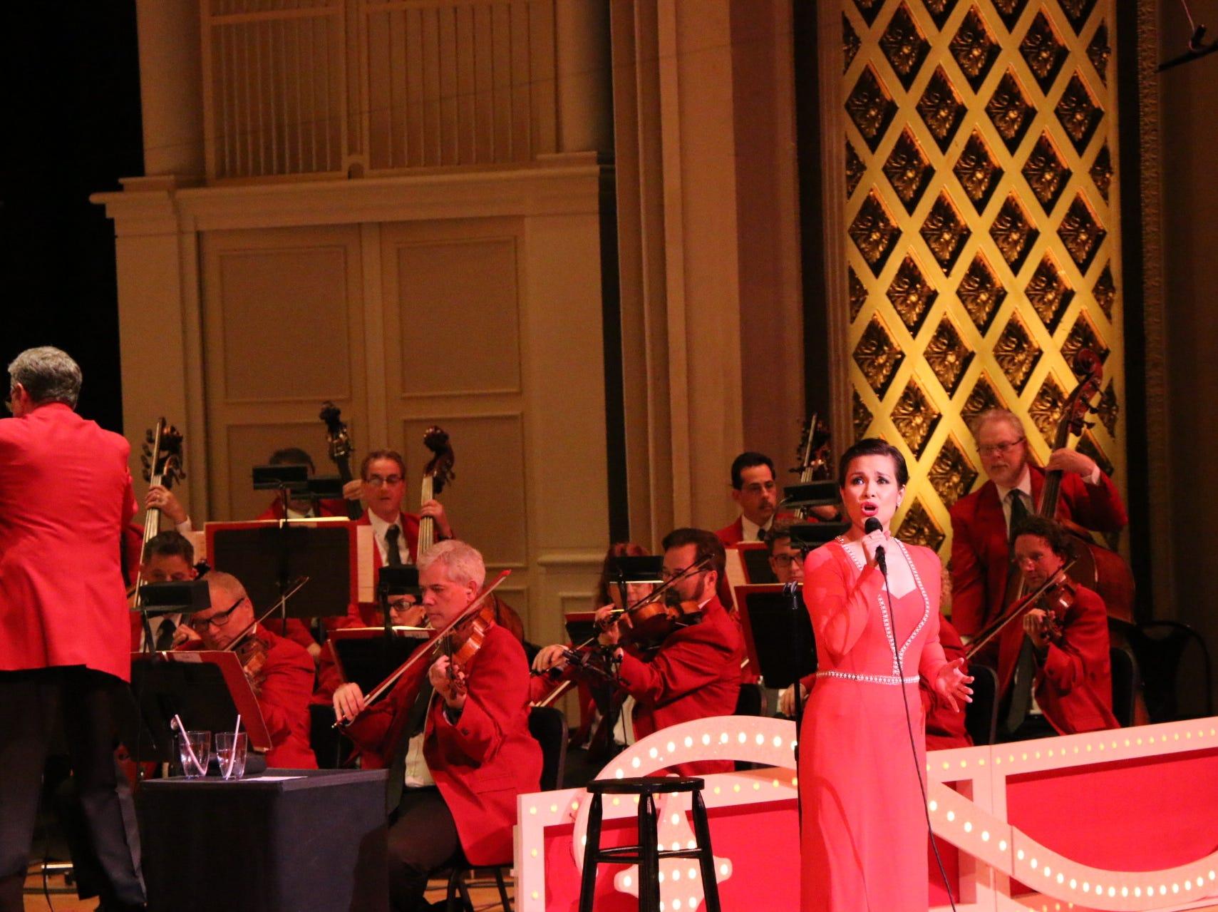 Lea Salonga performs in 2016.