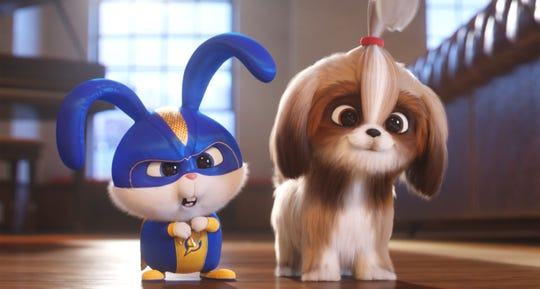 "Snowball (Kevin Hart) and Daisy (Tiffany Haddish) in Illumination's ""The Secret Life of Pets 2,"" directed by Chris Renaud."