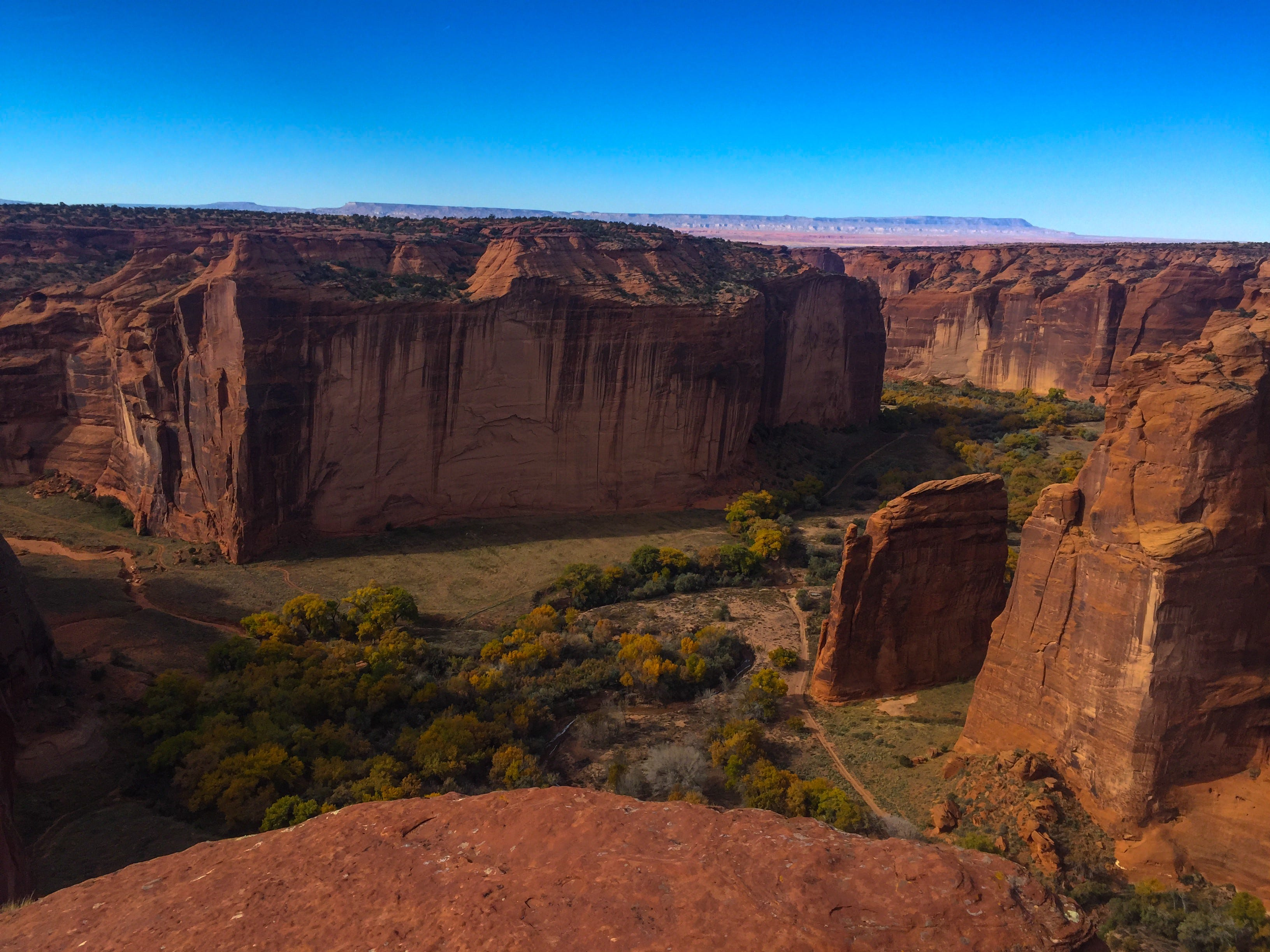 Visitors to Canyon de Chelly must hire a guide to tour the floor.
