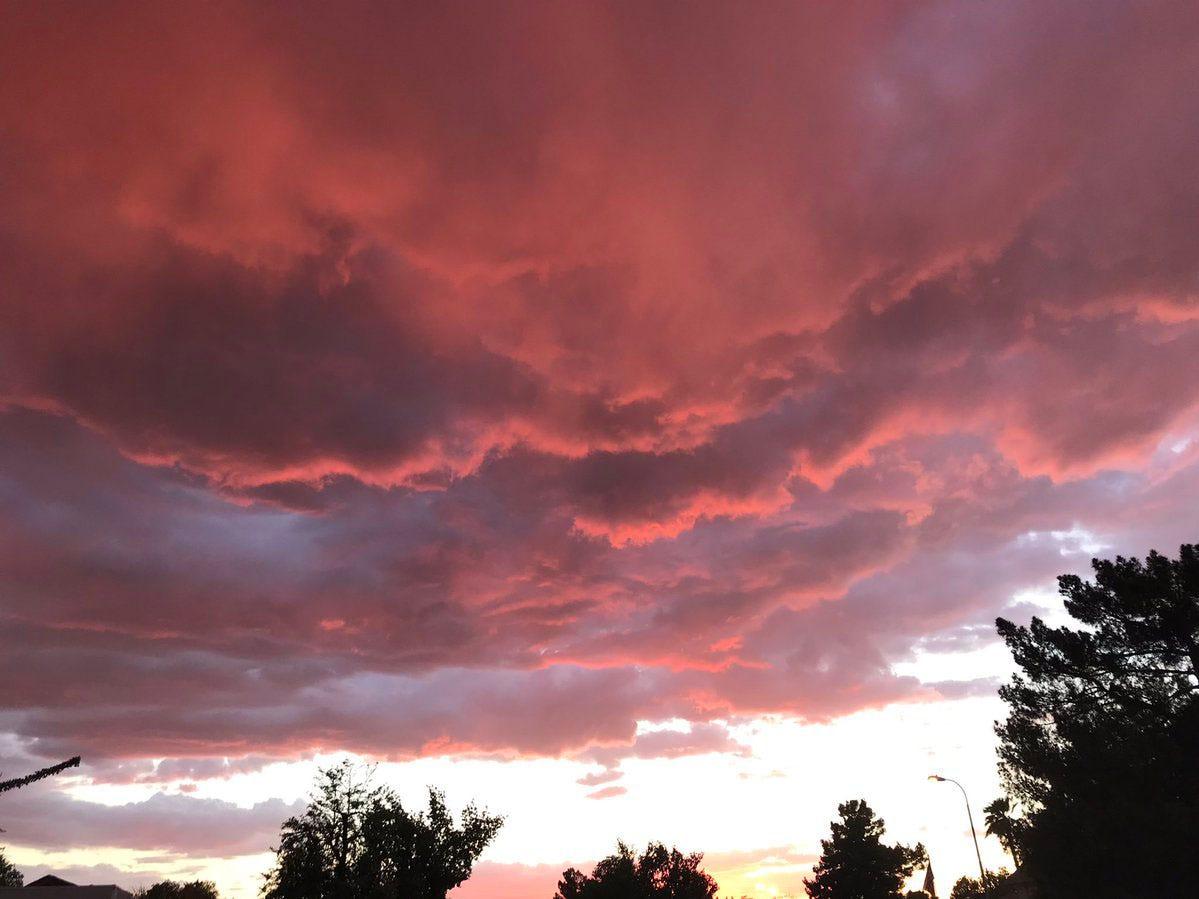 Sunset in Gilbert.