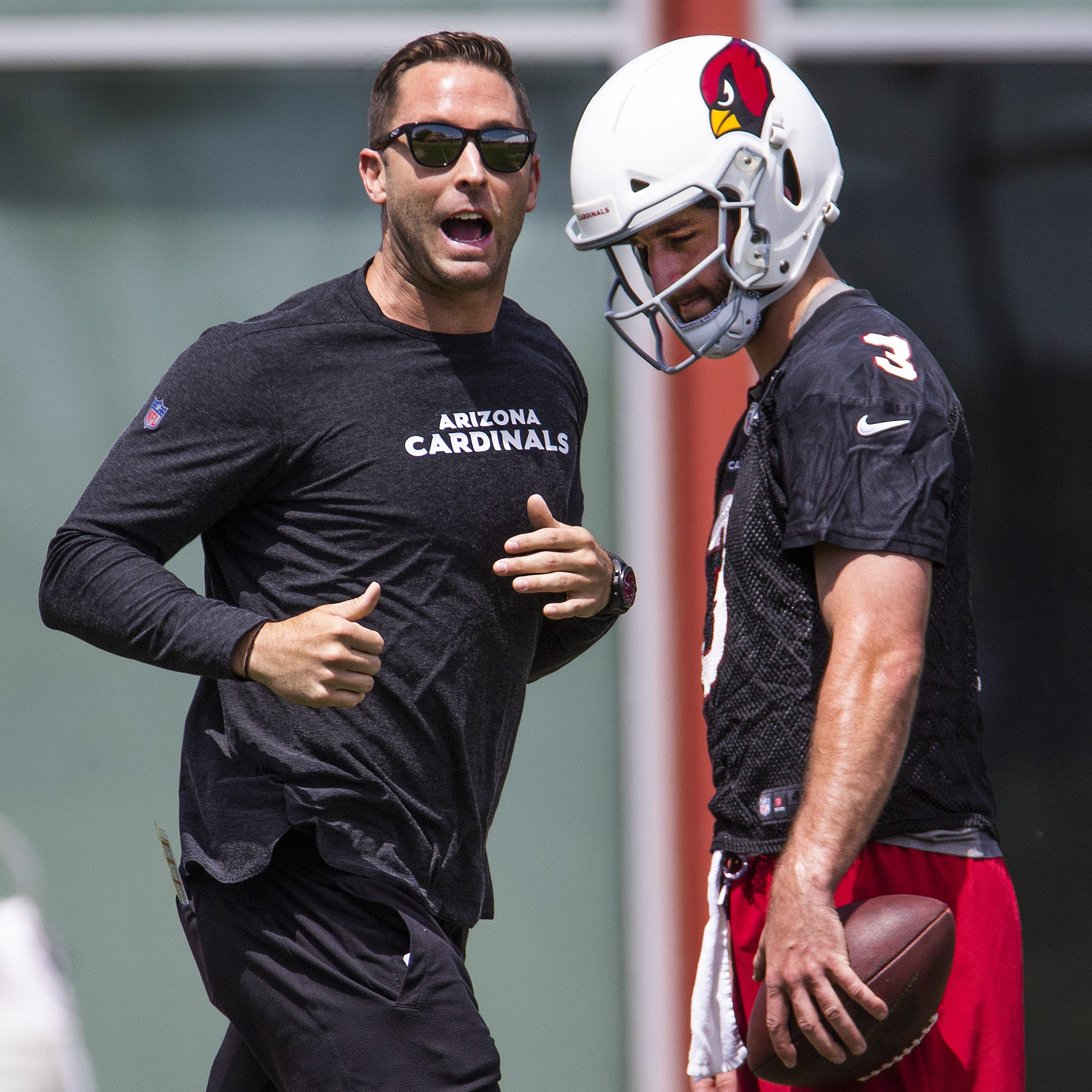 Despite the uncertainty, Kliff Kingsbury can't say enough nice things about Josh Rosen