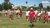 Coach Mike Fell is trying to return Mountain View to football prominence in Arizona amid changing times.