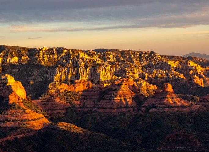 Grand Canyon above the Little Colorado River.