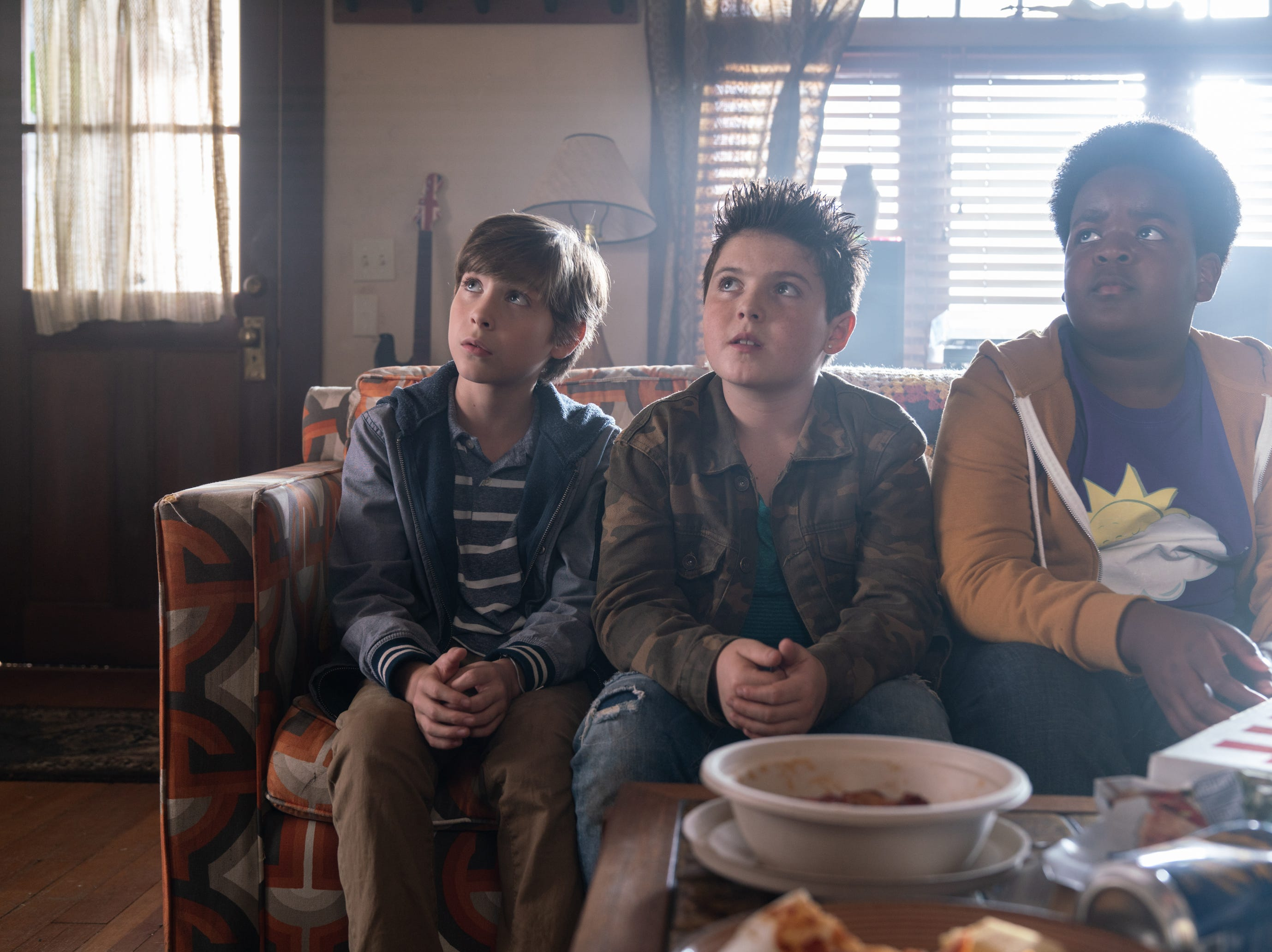 "Max (Jacob Tremblay), Thor (Brady Noon) and Lucas (Keith L. Williams) in ""Good Boys."""