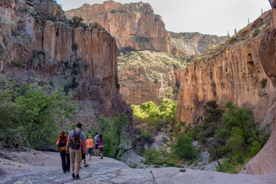 Aravaipa Canyon may be a lesser-known destination in Arizona, but it offers stunning scenery.