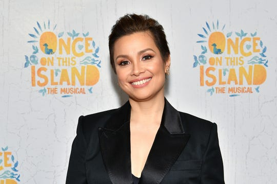 """Lea Salonga attends the opening-night party for Broadway's """"Once On This Island"""" on Dec. 3, 2017. She plays Erzulie in the show."""