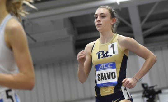 Miranda Salvo, a Palmyra grad, is in the home stretch of a distinguished distance running career at Pitt.