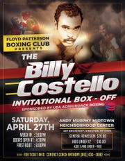 The Andy Murphy Midtown Neighborhood Center will host on April 27 The Billy Costello Invitational Box-off boxing tournament.
